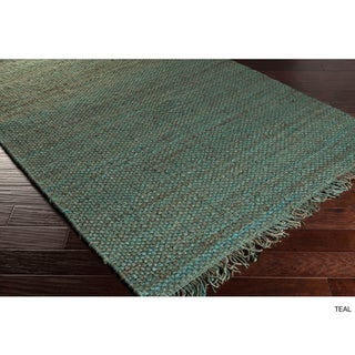 Hand-Woven Arizona Solid Jute Rug (3' x 5') (More options available)