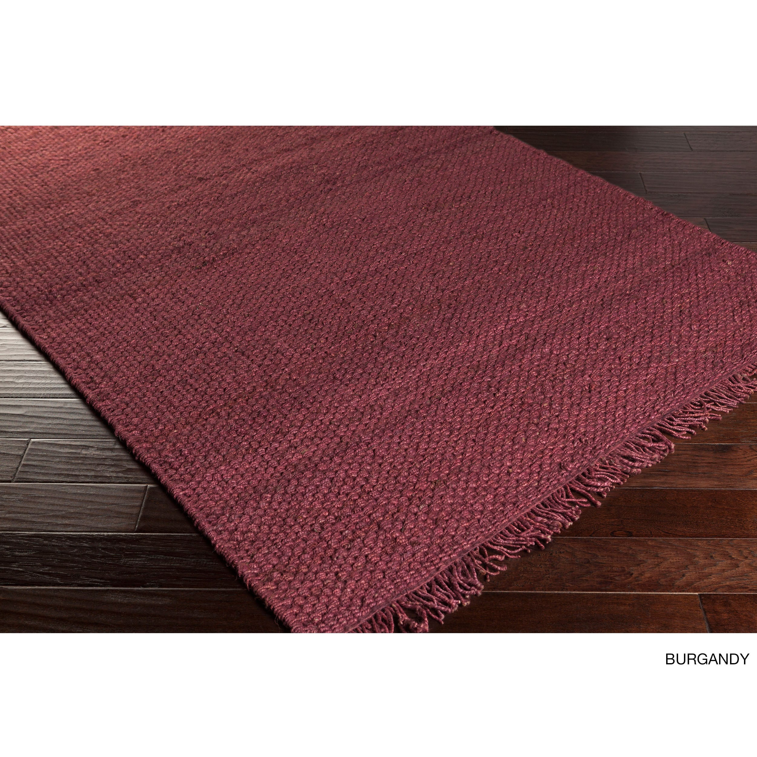 artistic weavers hand woven texas solid jute area rug 8 x 10   ebay
