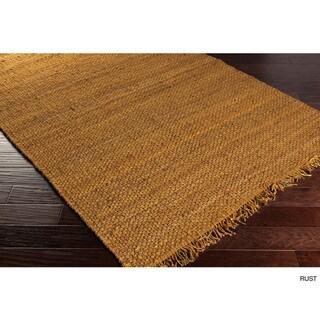 Hand-Woven Kansas Solid Jute Rug (5' x 7'6)