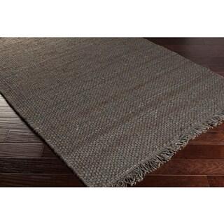 Hand-Woven Utah Solid Jute Rug (2'3 x 8')