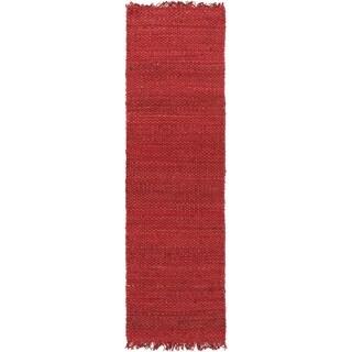 Handwoven Utah Solid Jute Rug (2'3 x 8')