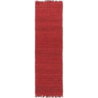 Merveilleux Handwoven Utah Solid Jute Rug (2u00273 ...