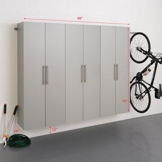 "Prepac HangUps 90"" Storage Cabinet Set D - 3pc - 90"" W x 72"" H x 16"" D"