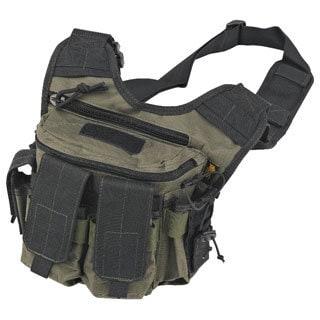 US Peacekeeper OD Green/ Black Rapid Deployment Pack