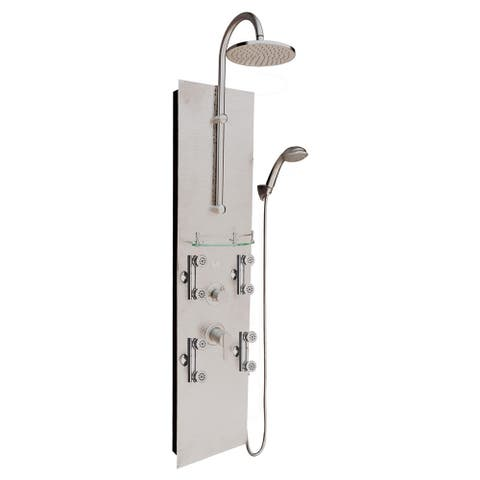 PULSE Vaquero Southwest-inspired ShowerSpa - Silver