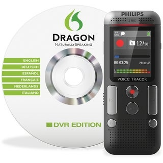 Philips Digital Recorder with Speech Recognition Software and 2Mic St