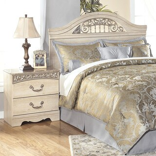 Signature Design by Ashley Catalina Two Drawer Night Stand - White
