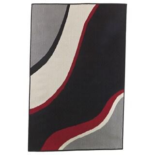 Signature Designs by Ashley Livy Wave Multi Medium Rug (4'4 x 6'11)