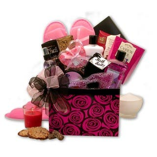 Gift baskets for less overstock a spa day getaway gift box gift basket negle Images