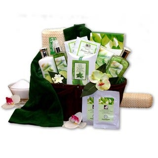 Cucumber Melon Calming Spa Bath & Body Gift Basket