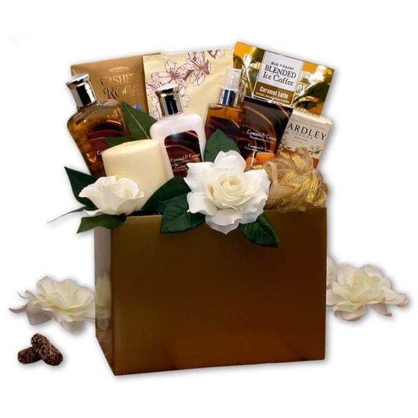 Vanilla & Caramel Cream Inspirations Spa Gift Box