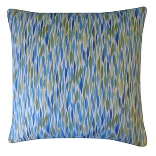 Panema Blue Abstract 20x20-inch Pillow