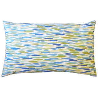 Panema Blue Abstract 12x20-inch Pillow