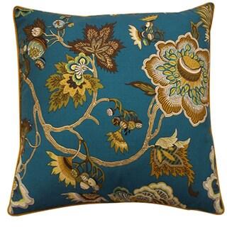 Jazmine Jade Floral 20x20-inch Pillow