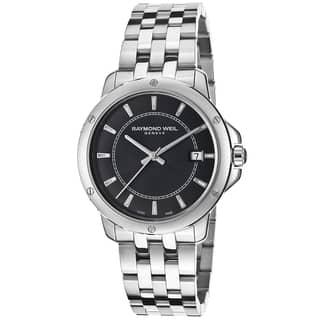 Raymond Weil Men's 5591-ST-20001 Tango Stainless Steel Watch https://ak1.ostkcdn.com/images/products/9143560/Raymond-Weil-Mens-5591-ST-20001-Tango-Stainless-Steel-Watch-P16324423.jpg?impolicy=medium