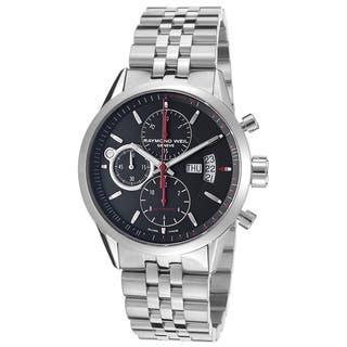 Raymond Weil Men's 7730-ST-20041 Freelancer Chronograph Automatic Watch https://ak1.ostkcdn.com/images/products/9143565/Raymond-Weil-Mens-7730-ST-20041-Freelancer-Chronograph-Automatic-Watch-P16324428.jpg?impolicy=medium
