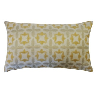 Motif Gold Geometric 12x20-inch Pillow
