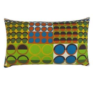 Johari Blue Polka-dot 12x20-inch Pillow
