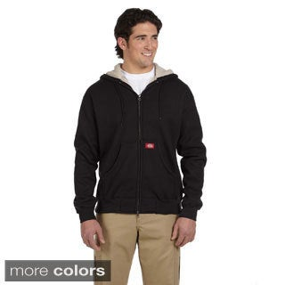 Dickies Men's Bonded Waffle-knit 10.75-ounce Hooded Jacket