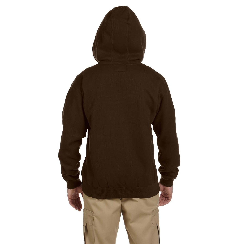 Dickies Bonded Waffle Knit Heavyweight Hoodie Jacket Dark Brown Men/'s Medium