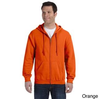Gildan Men's Heavy Blend 50/50 Full-zip Hooded Jacket (Option: S,orange)