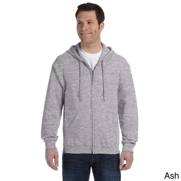 Gildan Mens Heavy Blend 50/50 Full-zip Hooded Jacket