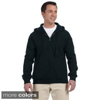 Gildan Men's DryBlend 50/50 Full-zip Hooded Jacket (Option: White)|https://ak1.ostkcdn.com/images/products/9143677/Gildan-Mens-DryBlend-50-50-Full-zip-Hooded-Jacket-P16324597.jpg?impolicy=medium