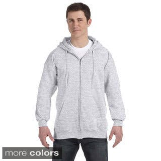 Hanes Men's Ultimate Cotton 90/10 Full-zip Hooded Jacket|https://ak1.ostkcdn.com/images/products/9143704/Hanes-Mens-Ultimate-Cotton-90-10-Full-zip-Hooded-Jacket-P16324621.jpg?impolicy=medium
