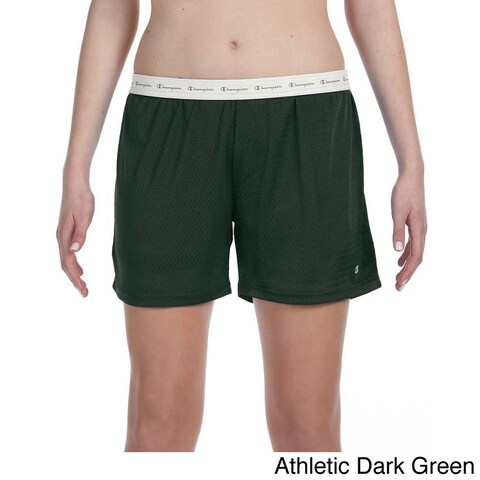 Champion Women's Mesh 5-inch Shorts
