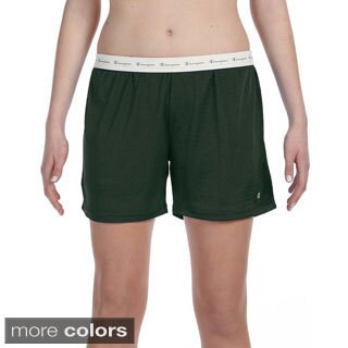 Champion Women's Mesh 5-inch Shorts (5 options available)