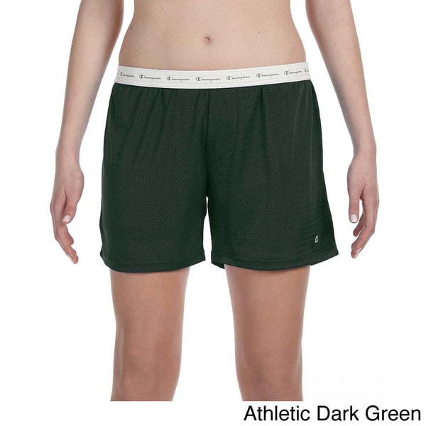 Shop Champion Women s Mesh 5-inch Shorts - On Sale - Free Shipping ... 9e8892332f