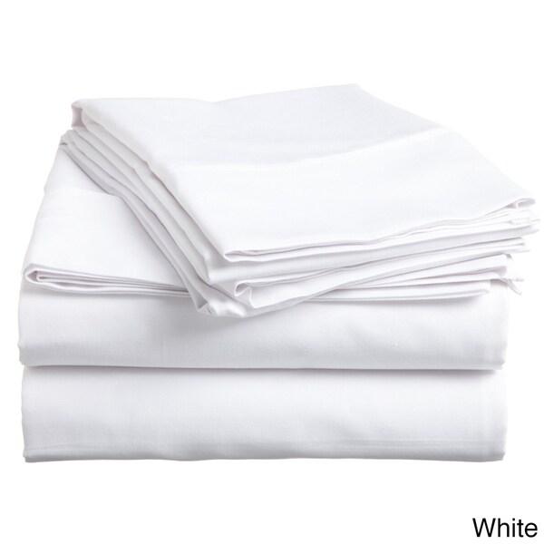 Cotton 400 Thread Count 4-piece Sheet Set