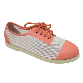 Yokids 'Roxanne' 35K Girl's Pink Flats Shoes