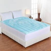 3-Inch 5-Zone Orthopedic Foam Mattress Topper