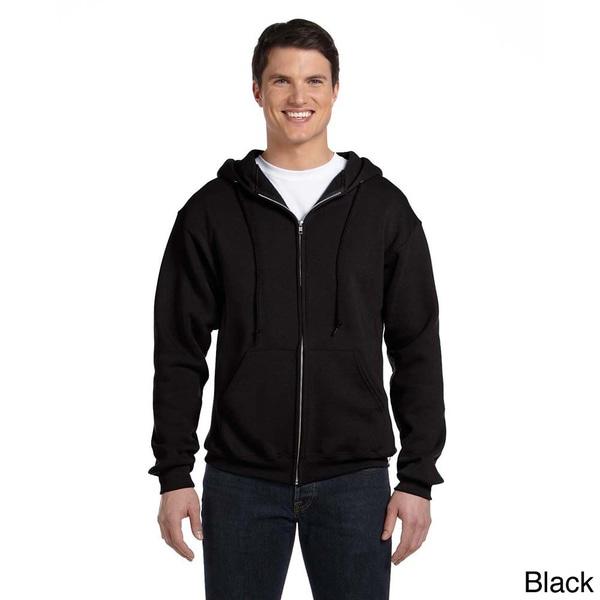 Russell Men's Dri-Power Fleece Full-zip Hooded Jacket. Opens flyout.