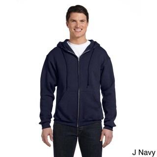 Russell Men's Dri-Power Fleece Full-zip Hooded Jacket (More options available)