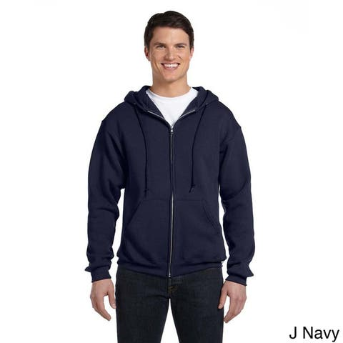 Russell Men's Dri-Power Fleece Full-zip Hooded Jacket