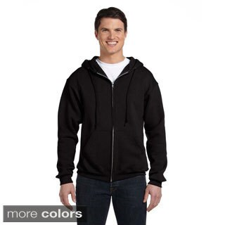 Russell Men's Dri-Power Fleece Full-zip Hooded Jacket (More options available)