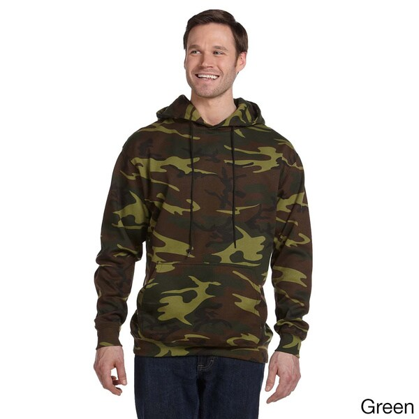 Men's Camouflage Hooded Sweatshirt. Opens flyout.