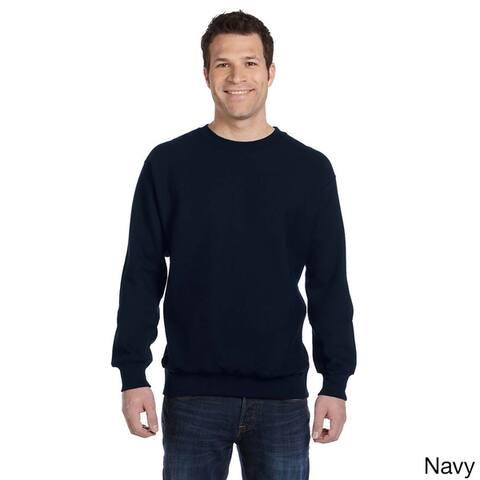 Weatherproof Men's Cross-weave Crew Neck Shirt