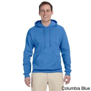 Men's 50/50 8-ounce NuBlend Fleece Hooded Sweatshirt (More options available)
