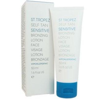 St. Tropez Self Tan Sensitive 1.6-ounce Bronzing Face Lotion