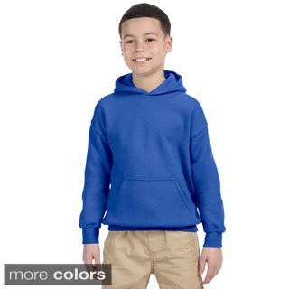 Gildan Youth Heavy Blend 50/50 Hoodie (Option: Orange)
