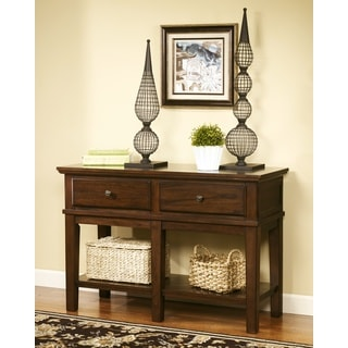 Signature Designs by Ashley Gately Medium Brown Console Sofa Table