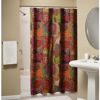 Greenland Home Fashions Jewel Cotton Shower Curtain