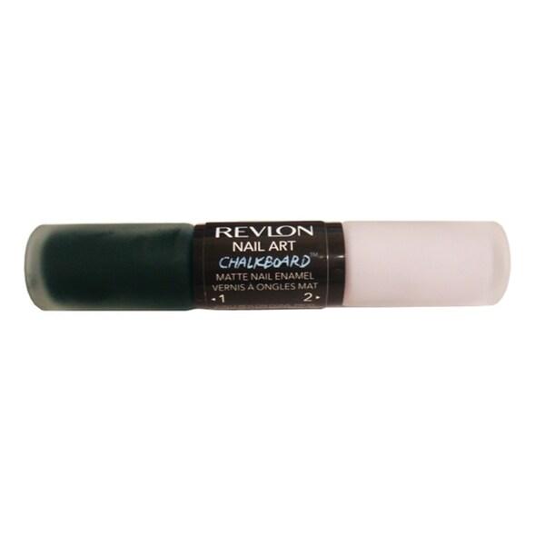 Revlon Nail Art Chalkboard Matte Nail Enamel