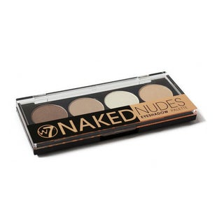W7 Naked Nudes 4-color Shadow Palette