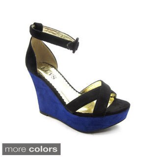 Luvs Women's 'Suzane' Platform Wedges (More options available)