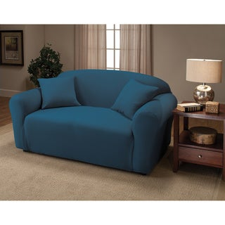 Sanctuary Jersey Stretch Loveseat Slipcover