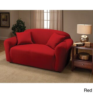 Sanctuary Stretch Jersey Loveseat Slipcover (2 options available)